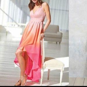 Ombré chiffon Victoria secret dress size 10